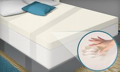 Groupon - PuraSleep 3-Inch Memory-Foam Mattress Topper (Up to 59% Off). Six Sizes Available. Free Shipping. in Online Deal. Groupon deal price: $99.00