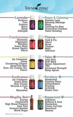 Young living essential oils info