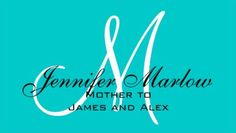 Simple Aqua Monogram Visiting Cards For Mother Business Cards http://www.zazzle.com/aqua_monogram_mommy_calling_card_double_sided_standard_business_cards_pack_of_100-240629359619357699?rf=238835258815790439&tc=GBCMommy1Pin