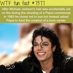 Michael Jackson has as many good stories as he has bad. He may be a controversial subject but that does not eliminate the good he did. Perceived evil should never overcome true goodness. Wow Facts, Wtf Fun Facts, True Facts, Funny Facts, Random Facts, Strange Facts, Creepy Facts, Random Stuff, The More You Know