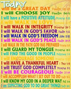 I will... In the end, God will do great things