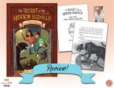 A Homeschool Mom's review of Secret of the Hidden Scrolls: The Great Escape. Join us and learn more!