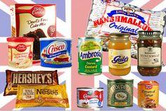 Engelse en Amerikaanse producten