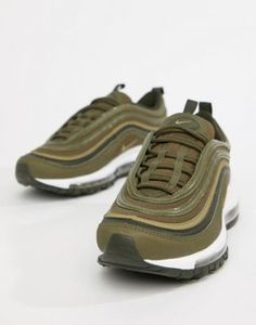 competitive price 8dcee 7b799 Image 1 of Nike Khaki Air Max 97 Trainers Fresh Creps, Air Max 97,