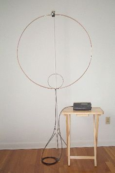 A Magnetic Loop Antenna for Shortwave Listening (SWL) Radio Shop, Ham Radio Operator, Ham Radio Antenna, Short Waves, 3d Printing, Magnets, Coding, Morse Code, Hams