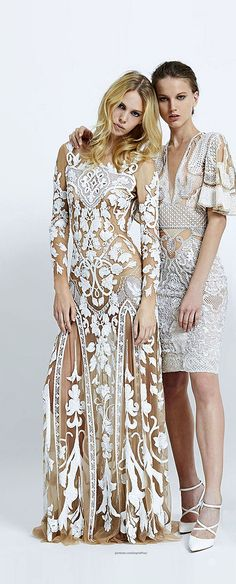 Zuhair Murad SS2015 with Hippie Touch