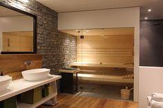 Výsledek obrázku pro sauna s koupelnou