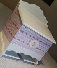 Porta pañales https://www.facebook.com/Cajas-Artesanales-Monica-472580499439520/?fref=ts