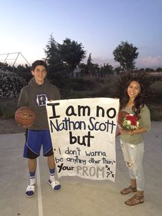 Naley one tree hill promposal