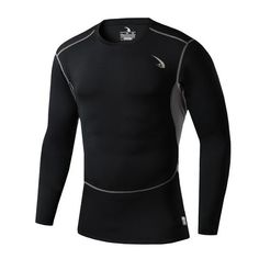 Men Compression Long Sleeve Breathable