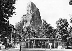 Entrée du Zoo de Vincennes dans les années 1930