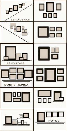 Miguel García González: La #Decoración con #cuadros