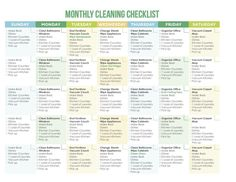 CleaningSchedule