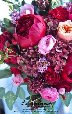 Red pink Peonies Hydrangeas Flowers Jennifer Williams Red pink Peonies Hydrangeas Flowers Jennifer W Peonies And Hydrangeas, Hydrangea Flower, Pink Peonies, Fresh Flowers, Colorful Flowers, Beautiful Flowers, White Flowers, Bunch Of Flowers, White Flower Arrangements