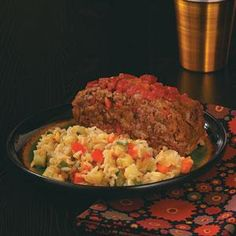 Healthy Meatloaf Recipe -Welcome your family in from the cold with this moist and delicious meat loaf with wonderful Southwest taco flavor. This is down-home comfort food at its healthy best! —Mary Relyea, Canastota, New York