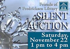 Don't miss our Silent Auction this Saturday, November 22!
