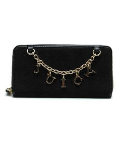 Look at this #zulilyfind! Black Charms Wallet by Juicy Couture #zulilyfinds