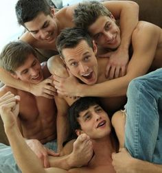 Davey Wavey Mingles with Bel Ami Boys