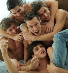 Davey Wavey Mingles with Bel Ami Boys