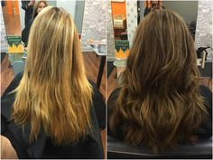 "Julie was our first guest to receive the new ""Heatcure!"" Fabulous new color and healthy hair!  Make a reservation with Stephanie today to experience this new hair restoring service! (703) 327-9408 or visit http://eclipsashburn.com"
