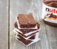 Easiest 3 Ingredient Nutella Brownies | Kirbie's Cravings | A San Diego food blog