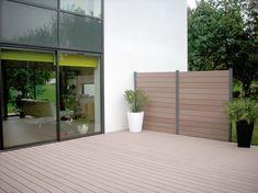 Claustras et Terrasse , Vannes, morbihan Lame Composite, Pergola, Deck, Patio, Furniture, Home Decor, Gardens, Decoration Home, Terrace