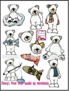 Want-MelonHeadz: Polar bear bundle
