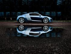 Inspired by the most successful Le Mans racing car of all time, the Audi R8 has been created from 70 years of motorsport innovation.   The mid-mounted, high revving V8 4.2 FSI engine delivers 0-62mph in 4.6 seconds and a top speed of 187mph. quattro® permanent four-wheel-drive distributes power when and where you need it. And the breathtaking design is recognisable the moment it appears in a rear view mirror.    Available under Licence Only  Click here for further details