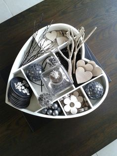 Heart tray home decoration type case Interior Design Living Room, Room Interior, I Love Heart, Shadow Box, Heart Shapes, Sweet Home, Diy Crafts, Gifts, Handmade