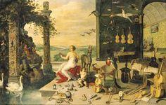 Jan Brueghel II (Antwerp 1601-1678)  The Sense of Hearing