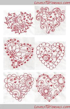 heart template - amazing for cookies Piping Templates, Royal Icing Templates, Royal Icing Transfers, Cake Templates, Applique Templates, Applique Patterns, Fancy Cookies, Royal Icing Cookies, Iced Cookies