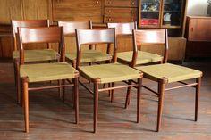 6 Wilkhahn Stühle Teak 70er Vintage Original DANISH MODERN in Antiquitäten & Kunst, Design & Stil, 1970-1979 | eBay