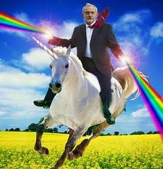 Obama is like a majestic unicorn.Therefore having Obama ride a unicorn with rainbows shooting from his hands is like majesticaler. Sammy Supernatural, Dean Castiel, Mirai Nikki, Sam Dean, Yandere, Jeremy Corbyn, Funny Bunnies, We Are The World, Destiel