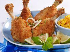 Découvrez la recette Pilons de poulet frit sur cuisineactuelle.fr.