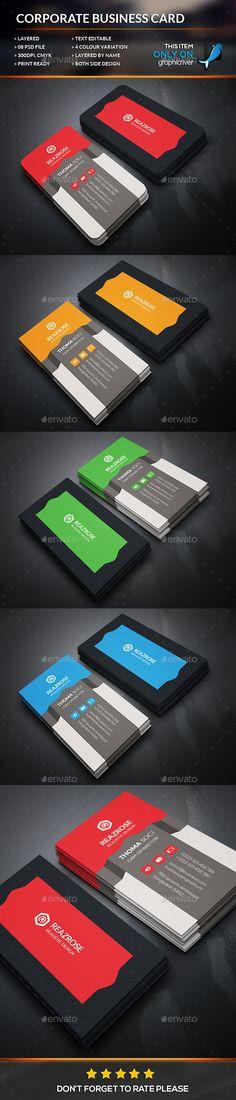Creative Shape Business Card Template #design Download: http://graphicriver.net/item/creative-shape-business-card/12504604?ref=ksioks