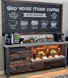 """Dicas para organizar um """"cantinho do café"""""""