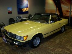 1978 Mercedes-Benz 450 SL Convertible - $35,000 Bodystyle: 2 Dr Convertible, Engine: 4.5 L V8, Transmission: Automatic, Ext. Color: Yellow, Int. Color: Tan, Mileage: 16,037, Stock Number: 11950