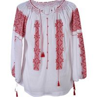 Handmade Traditional Blouse for Women Embroidered Clothes, Embroidered Tunic, Peasant Blouse, Blouse Vintage, Handmade Clothes, Traditional Outfits, Blouses For Women, Anna, My Style