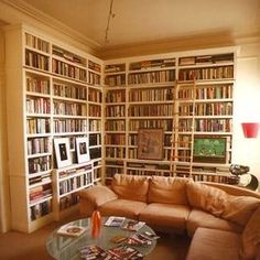 I am addicted to repinning home libraries