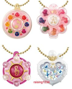 BANDAI Magical Ojamajo Doremi Tap Charm Collection Gashapon (Set 4 pcs)