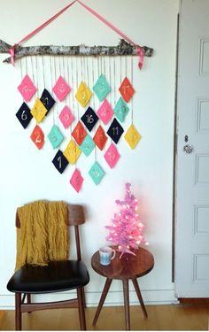 6 Calendarios de Adviento para decorar la casa | Decorar tu casa es facilisimo.com