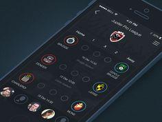 Bet Soccer Free Belgium by Dmitriy Chuta for Chapps Design Mobile Application Design, Mobile Ui Design, Football Match Result, Tablet Ui, Android Ui, Web Design, Sports App, Ui Design Inspiration, Screen Design