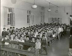 "The residential school system removed children from their homes to assimilate them. The goal was ""to kill the Indian in the child. Residential Schools Canada, Indian Residential Schools, Canadian History, Native American History, Aboriginal Children, Aboriginal People, Canadian Social Studies, Native Child, Third World Countries"