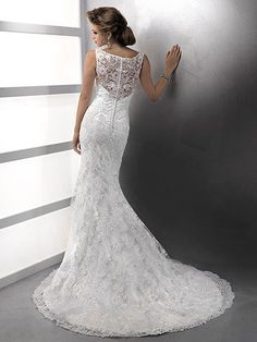 Justina Wedding Dress by Maggie Sottero | back