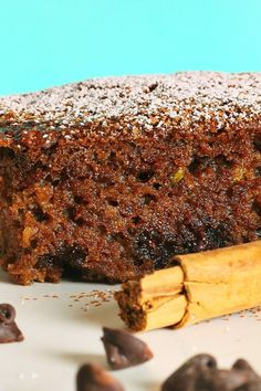 Chocolate Zucchini Cake #Dessert #Recipe