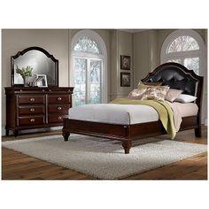 Manhattan Bedroom 5 Pc. Queen Bedroom - Value City Furniture $1,199.99