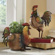 Rise 'n Shine Rooster Accents