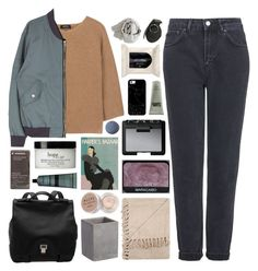 """""""MORE THAN JUST SURVIVAL"""" by annamari-a ❤ liked on Polyvore featuring A.P.C., Topshop, NARS Cosmetics, H&M, Casetify, Karl Lagerfeld, CB2, Stila, Aesop and philosophy"""