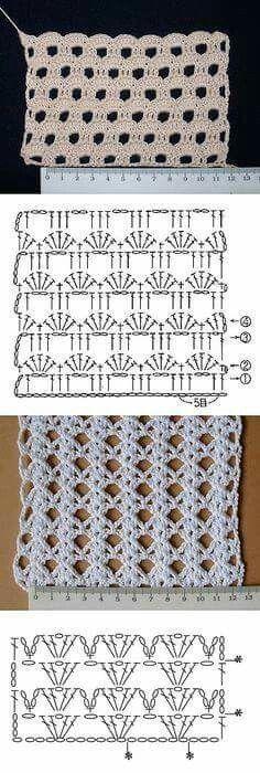 Watch This Video Beauteous Finished Make Crochet Look Like Knitting (the Waistcoat Stitch) Ideas. Amazing Make Crochet Look Like Knitting (the Waistcoat Stitch) Ideas. Gilet Crochet, Crochet Motifs, Crochet Diagram, Crochet Stitches Patterns, Crochet Chart, Love Crochet, Crochet Baby, Stitch Patterns, Knitting Patterns