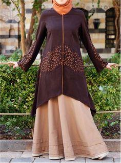 Soreya Embroidered Tunic - Shukr.co.uk
